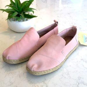 TOMS Deconstructed Alpargata Suede Shoes